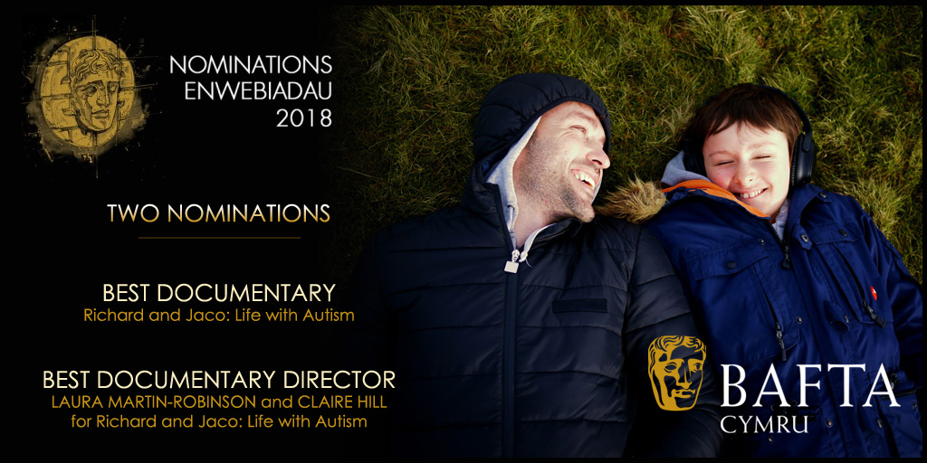 BAFTA Cymru Award nominations for 'Richard and Jaco: Life with Autism'