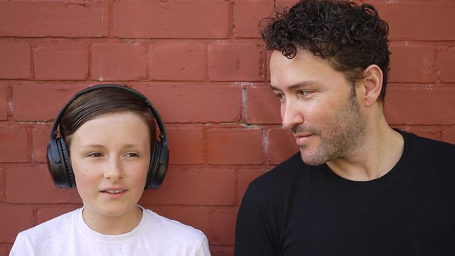 Richard Mylan and his son Jaco appear in 'Richard and Jaco Take on the World' about autism for BBC Wales